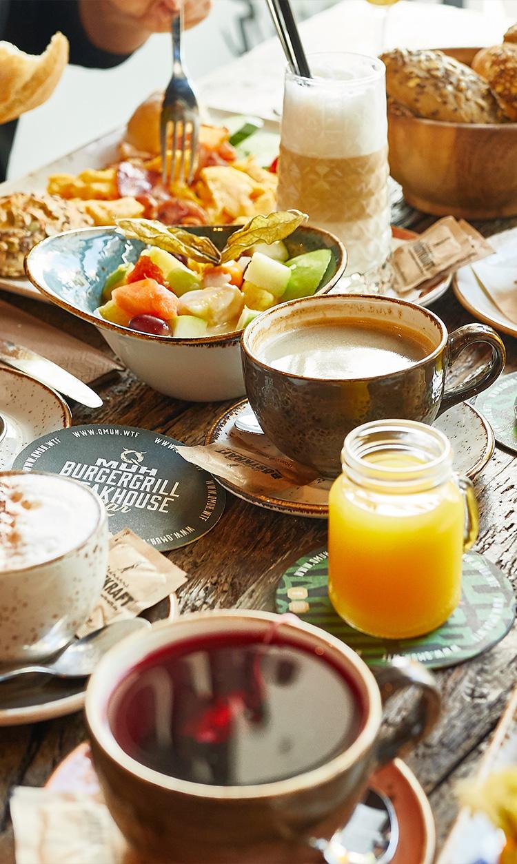 QMUH Frühstück