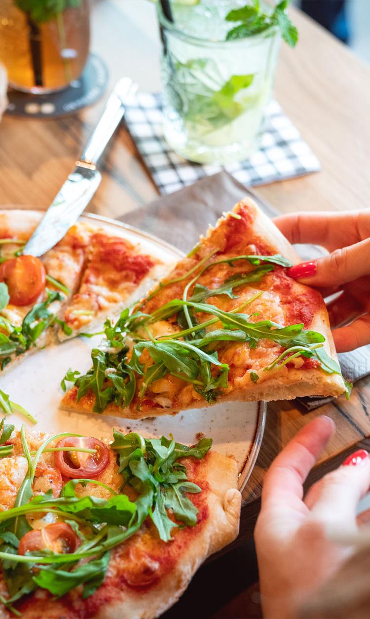 QMUH Pizza