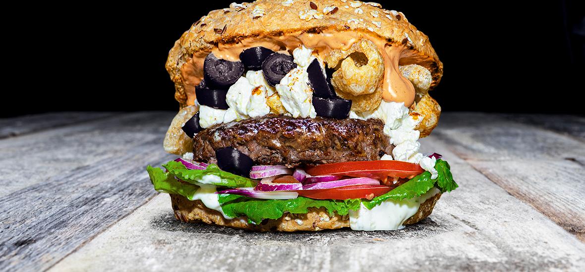 QMUH - Unser Essen - The Greek Burger
