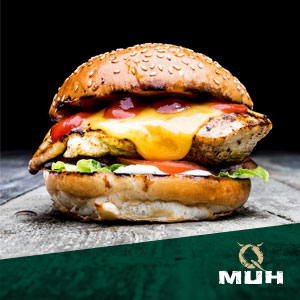 QMUH Burger Chicken Cheese