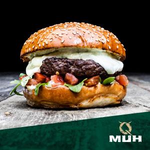 QMUH Burger Mozarella