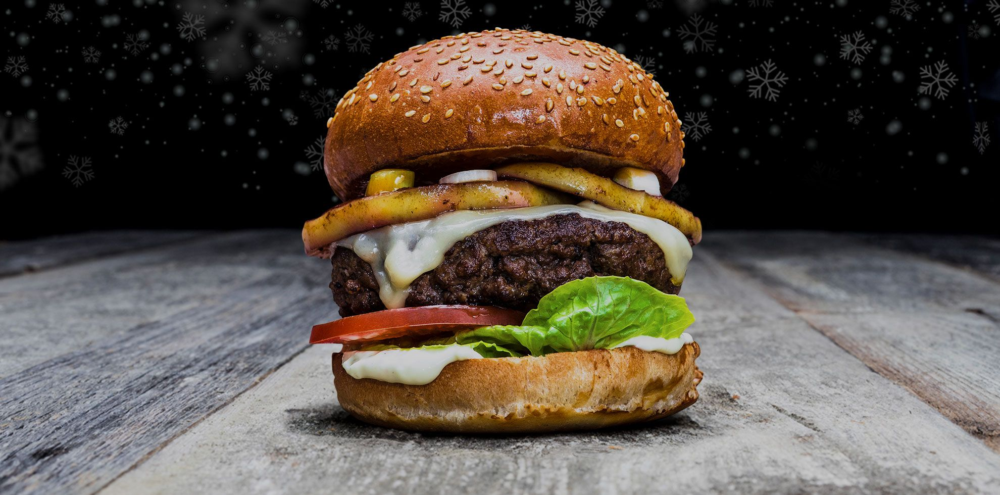 Qmuh Burger - Winter Wonder